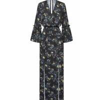 $169.95 BNWT SHEIKE size 8 Crane Maxi Dress. Black crane floral.