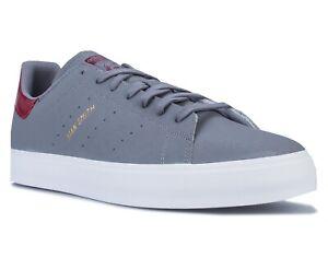 ADIDAS Stan Smith Vulc men men's shoes trainers sneakers grey burgundy EF1150