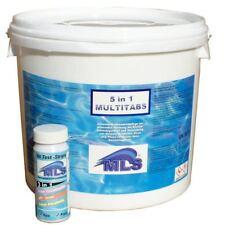 Chlortabletten 5 in 1 MULTITABS - 5 kg plus 50 Wassertester Chlor/pH !! NEU !!