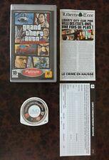 GTA / Grand Theft Auto : Liberty City Stories - SONY PSP - FR - TBE