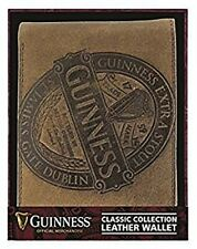 More details for guinness classic collection brown leather wallet   (sg)