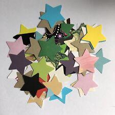 Scrapbooking- Card- Die Cut- Craft Embellishment- Stars