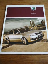 SKODA SUPERB BROCHURE MAY 2004