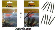 10 girelle sgancio rapido + conetti da pesca carpfishing terminali carpa