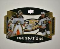 2020-21 UD Series 1 Clear Cut Foundation Duos #CCF-SG Gibson/Jakob Silfverberg
