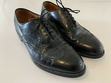 ALLEN EDMONDS Chester Wingtip Oxford Shoes Black Size 11 D