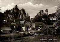 Tüchersfeld bei Pottenstein Bayern Fränische Schweiz s/w Postkarte ungelaufen