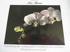 Retired HAED Nene Thomas counted X-stitch chart-QS Orchid Two-Regular Format