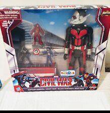 civil war capitan america, giant man,black panter,iron man