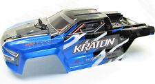 Arrma Kraton 6s Blx - Chasis (Azul Policarbonato Cubierta & Cuerpo Puntas