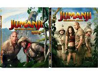 Jumanji: Welcome To The Jungle .Blu-ray Steelbook Full Slip, Lenticular