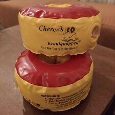 Cherek´s Kraulquappen® für Fortgeschrittene rot/gelb Schwimmhilfe Schwimmflügel