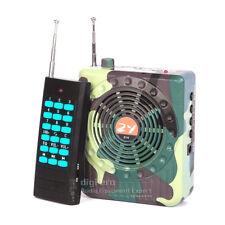 Electronic Bird Caller Hunting Decoy Speaker Predator Game Call Remote Control