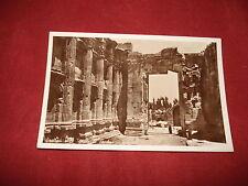VINTAGE LEBANON: BAALBEK Temple of Bacchus interior RP sepia