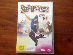 Step Up / Step Up 2 / Step Up 3 / Step Up 4 (DVD 4-Disc Set)