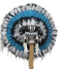 Native American STILLWATER War Bonnet Feather Headdress