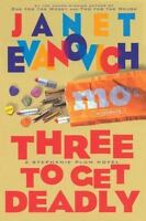 Three to Get Deadly Stephanie Plum Book 3 Hardcover Janet Evanovich FREE SHIP