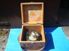 Marine Magnetic Brass Compass 127mm Binnacle CCCP