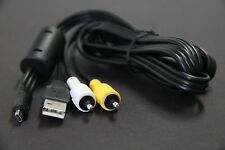 NEW UC-E6 USB+EG-CP11 Video Cable Nikon/Fuji/Panasonic/Olympus/DXG Cameras CAMCO