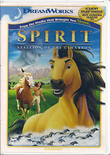 SPIRIT STALLION OF THE CIMARRON (DVD, 2010) NEW