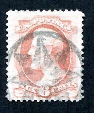 #159 - XF/Sup w/ near s.o.n. New York Foreign Mail Fancy Cancel - Premium Qual!