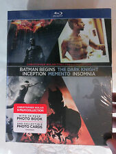 Christopher Nolan Director's Collection (7x Bluray, USA Import, Region A)