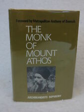 Archimandrite Sophrony THE MONK OF MOUNT ATHOS Mowbrays 1973 HC/DJ
