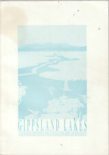 GIPPSLAND LAKES ( VICTORIA ) MANAGEMENT PLAN : DEPARTMENT  CONSERVATION 1991  aj