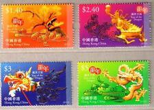 Hong Kong 2012-1 China Lunar New Year of Dragon Stamps