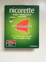 Nicolette invisi 25 mg patch step 1 nicotine invisi patch