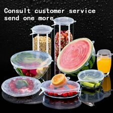 Universal Silicone Stretch Lids Keeping Fresh Cover Seal Bowl Stretchy Wrap Cove