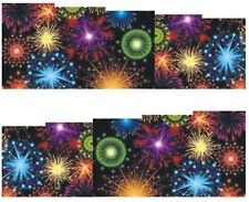 Nail Art Sticker Water Decals Transfer Stickers Fireworks (DB174)