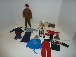 "12/"" ACTION MAN Militare HOT Toy in Lega Occhiali Fashion Decor 2.3x2.4cm"