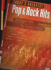 176 page TODAY'S POP & ROCK HITS Sheet Music Book Justin Bieber Katy PERRY SMASH