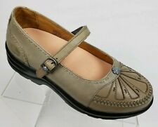 DR COMFORT Paradise Women's Mary Jane Diabetic Olive Comfort Shoes Size 7.5 Wide