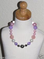New Acrylic Chunky Beads Bubblegum Gumball Jewlery Necklace Sofia