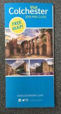 Visit Colchester (Essex) 2019 Mini Guide & Map - Foldout flyer