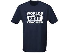 Worlds Best Teacher Mens T-Shirt (12 Colours)
