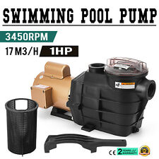 Hayward 1 HP Swimming Pool Pump SP2607X10 In Ground 3450RPM Cover Strainer