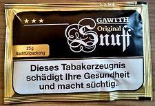 5 x 25g Gawith Original (Apricot) Snuff von Pöschl,Schnupftabak