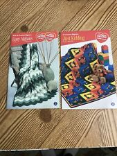 New listing Crochet And Knit Afghans Book 0122 & 0705