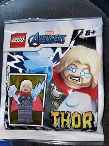 LEGO MARVEL AVENGERS: Thor Minifigure Limited Edition Polybag Set 242105. Sealed