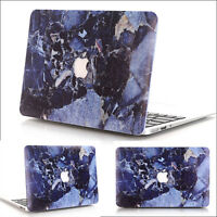 Deep Blue Marble Hard Case Cover Skin for Macbook Air Pro 11 13'' and Retina #8
