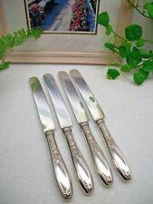 4   International Silver 1847 Rogers Bros  AMBASSADOR  Silverplate Dinner Knives