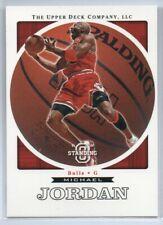 Michael Jordan 2003-04 Upper Deck Standing O Basketball Card
