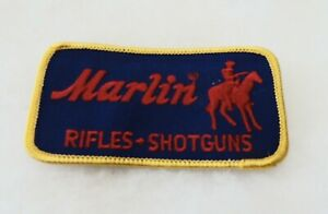 Vintage MARLIN Rifles - Shotguns Cloth Patch - New Condition