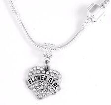 Flower Girl Necklace Flower Girl Gift Flower Girl chain Flower Girl Present Gift