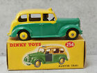 Dinky 254 Austin FX3 Taxi Yellow Green Black Interior Chassis V Near Mint  Boxed