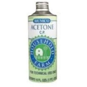 Humco Acetone Chemically Pure Liquid, 1 pint (8 Pack)