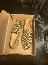 Ugg Women's Celp Size 9 W Sandrinne calf Hair Leopard